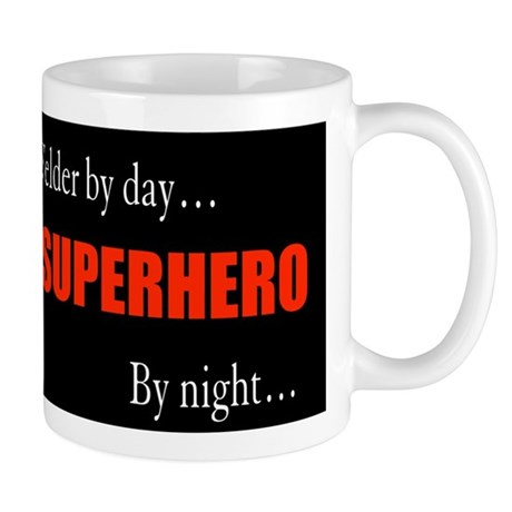 Superhero Welder Mug