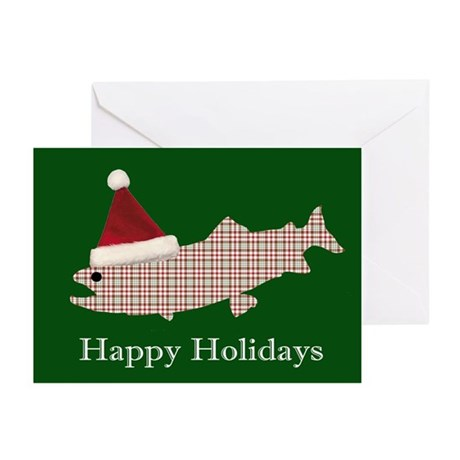 HAPPY HOLIDAYS TROUT (BLANK INSIDE) (Pk of 20)