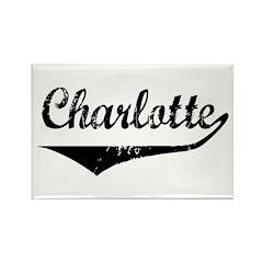 Charlotte Rectangle Magnet
