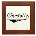 Charlotte Framed Tile