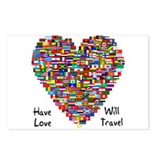 Have Love, Will Travel Postcards (Package of 8)