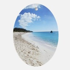 Bermuda Beach - Gift Ornament/Keepsake Oval