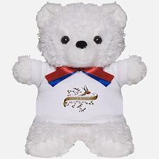 Biomedical Engineering Scroll Teddy Bear