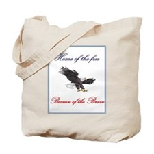 Home of the free... Tote Bag