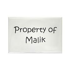 Unique Malik Rectangle Magnet