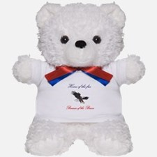 Home of the free... Teddy Bear