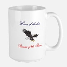Home of the free... Mug