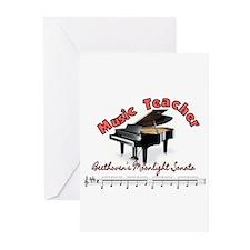 Music Teacher Greeting Cards (Pk of 20)