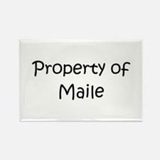 Funny Maile Rectangle Magnet