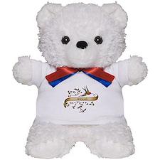 Banjo Scroll Teddy Bear