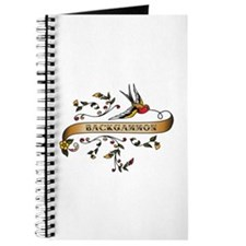 Backgammon Scroll Journal