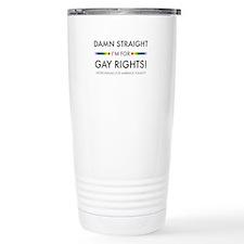 Cute Gay rights Travel Mug