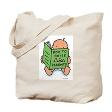 raising parents (light) tote bag