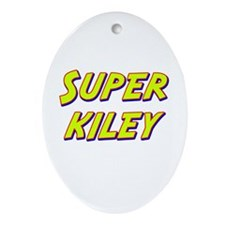 Super kiley Oval Ornament