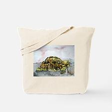 african desert tortoise land Tote Bag