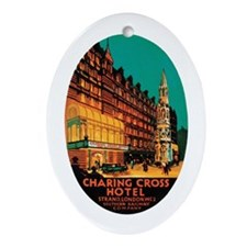 Charing Cross London Oval Ornament