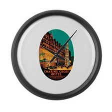 Charing Cross London Large Wall Clock