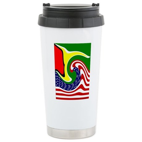 guyana Stainless Steel Travel Mug