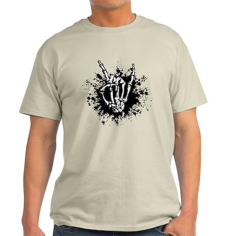 Rock in Bone Splat Light T-Shirt