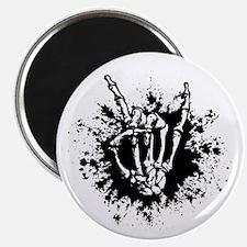 Rock in Bone Splat Magnet