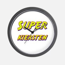Super kiersten Wall Clock