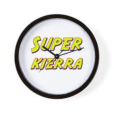 Super kierra Wall Clock