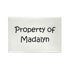 Unique Madalyn Rectangle Magnet (10 pack)