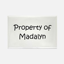 Funny Madalyn Rectangle Magnet