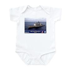 USS Lake Champlain CG-57 Infant Bodysuit