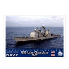 USS Lake Champlain CG-57 Postcards (Package of 8)