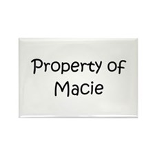 Funny Macie Rectangle Magnet