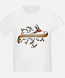 Administrative Assisting Scroll T-Shirt