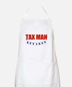 Retired Tax Man BBQ Apron