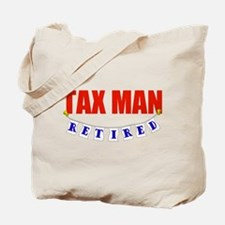 Retired Tax Man Tote Bag