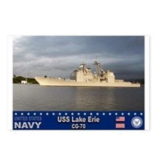 USS Lake Erie CG-70 Postcards (Package of 8)