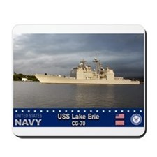 USS Lake Erie CG-70 Mousepad