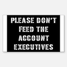 Account Executive Rectangle Decal