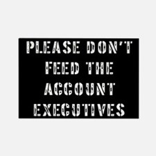 Account Executive Rectangle Magnet