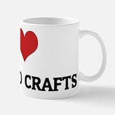 I Love Arts and Crafts Mug