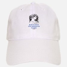 KELLER QUOTE Baseball Baseball Cap