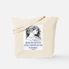 KELLER QUOTE Tote Bag