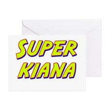 Super kiana Greeting Cards (Pk of 10)