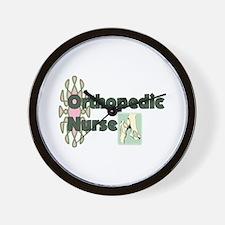 Orthopedic Nurse Wall Clock