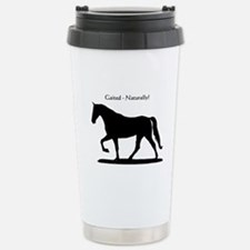 Gaited Horse Stainless Steel Travel Mug