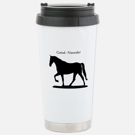 Gaited Horse Stainless Steel Travel Mug