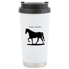 Gaited Horse Travel Mug
