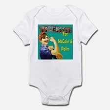 Tennessee for McCain & Palin! Infant Bodysuit