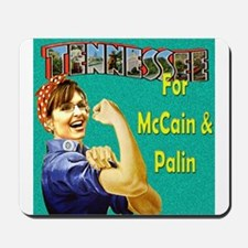 Tennessee for McCain & Palin! Mousepad