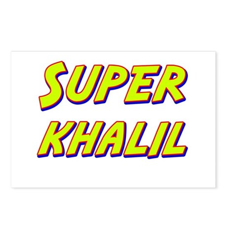 Super khalil Postcards (Package of 8)