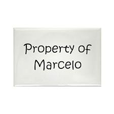 Funny Marcelo Rectangle Magnet
